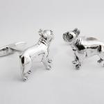 Gemelos impresos en resina castable y fundidos en plata