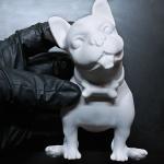 Bulldog model for a mug