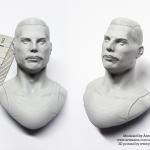 Freddy Mercury 3D printed
