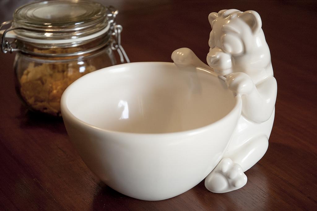 ceramic panda bowl
